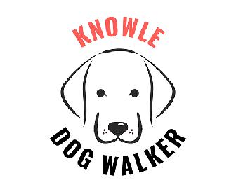 Knowle Dog Walker Logo