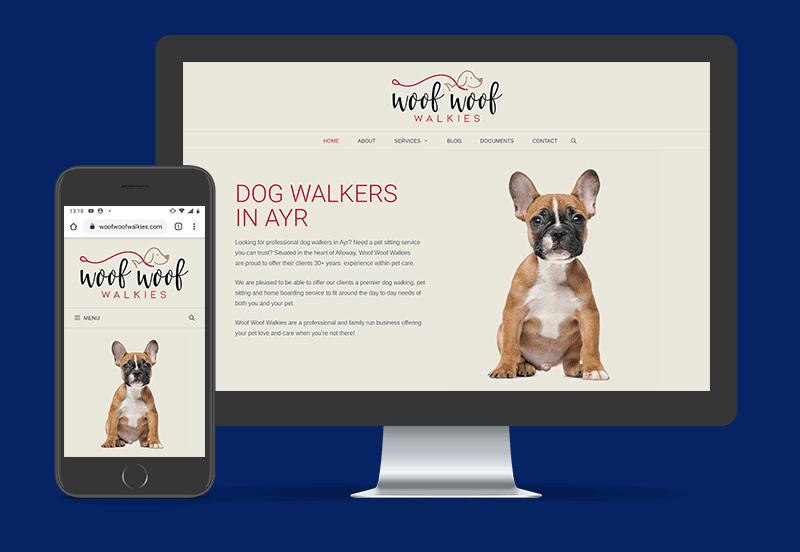 Woof Woof Walkies Website