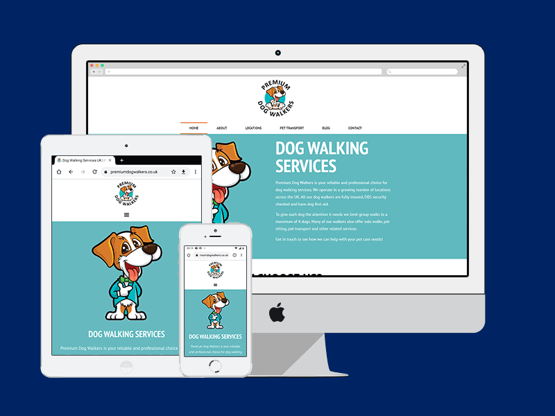 Premium Dog Walkers Responsive Image