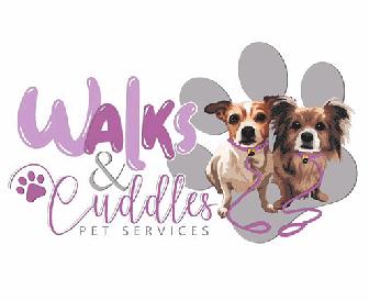 Walks and Cuddles Logo